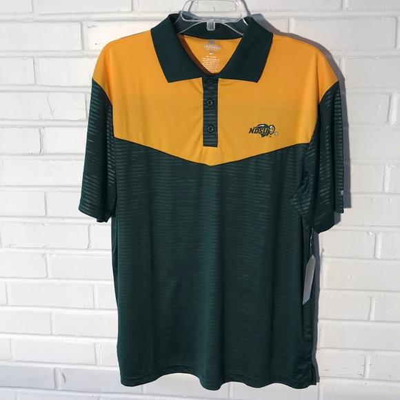 861e55ce Shirts | Colosseum Mens Ndsu Bison Polo Shirt Size Large | Poshmark